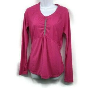 Athleta Womens Pump It Up Top Small  Pullover